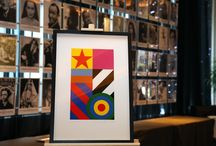 Sir Peter Blake Limited Edition Launch / On Monday, February 29, Hard Days Night Hotel hosted the launch of Liverpool Biennial's #Dazzle2016 - a limited edition print by British Pop Artist Sir Peter Blake. / by Hard Days Night Hotel, Liverpool. UK