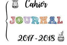 Cahier journal