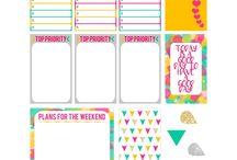 Love printables / stickers