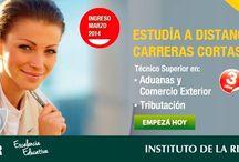 Instituto de la Rivera - DLR / Hacé tu consulta a un representante y conocé cada una de las carreras del Instituto de la Rivera – DLR, ingresando en el siguiente link: http://quevasaestudiar.com/estudiar-en-Instituto-de-la-Rivera-103