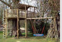 Tree house for girls