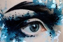 abstrakt makeup