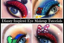 Disney inspired makeup