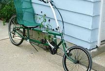 Rowery poziome i nie tylko / świat roweru od klasycznych poprzez poziome, cruisery do bicykli