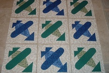 Airplane quilts