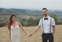 Bride & Groom / by TwoLittleOwls inLove
