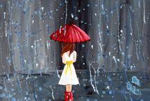 I love the rain.