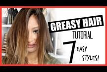 Oily Hair Tips and Tutorials / Oily Hair Tips and Tutorials