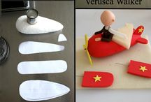 Gum-paste / Fondant Transport Tutorials and Designs