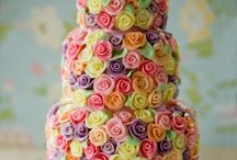Beautiful Cakes / Gorgeous Cakes that make you wantto quit your day job and become a cake artist. You wish! / by Marryl All Write