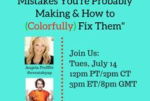 Webinars / Webinars that help guide others on Productivity, Paperless, and Profit!