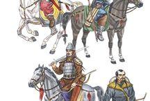 Hunnic-Mongol