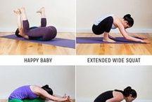 Yoga und Stretching