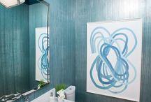 master bath water closet / by Libby Johnson
