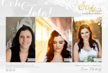 STYLE PRODUCTIONS: Bridal & Beauties / A showcase of all our beautiful brides and beauties that we did make-up and hair for.