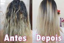 cuidados com cabelos