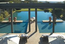 Saxon Boutique Hotel, Johannesburg, South Africa / Luxury boutique hotel with Conference and Spa facilities  Set in the heart of the exclusive Johannesburg suburb of Sandhurst, the Saxon is one of South Africa's most exclusive and luxurious boutique hotels.  Originally designed in 1990 as a private residence, the Saxon is a quiet retreat, offering panoramic views over ten-acres of indigenous gardens towards Johannesburg's iconic skyline beyond.
