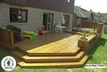 terase lemn cu piscina