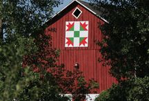 Barns with Painted Quilts / by Pat Leatherman