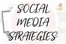 ♥︎ SOCIAL MEDIA STRATEGIES / The best social media strategies to grow your blog quickly!
