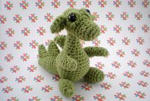 amigurumi dragons and dinosaurs / by The Crafter's Apprentice
