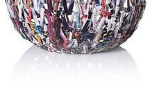 Borsette con sacchetti reciclati