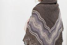 Knitting - shawl