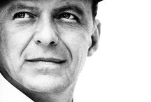 Frank Sinatra : ole blue eyes / My Gaga's favorite singer.  He does have a wonderful voice and sense of style