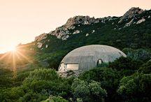 La Cupola / This House is just breathtaking. Michelangelo Antonioni  + Monica Vitti #concretelove #betonliebe  #binishel #dantebini