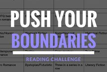 Push Your Boundaries Reading Challenge 2016 / Keeping track of what I read in 2016 for the Push Your Boundaries Reading Challenge.  Details of the challenge are in first pin.