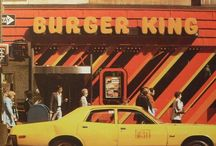 Burgers and coffee
