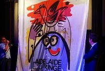 Poster Launch 2013 / The winning design for the #ADLfringe 2013 poster. Revealed by Fringe Ambassador Paul McDermott at The Promethean 26 Oct, 2012.