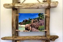 wood glass frames