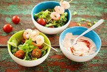 Salaatin kastike ja pesto