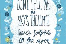 Inspiring Words / Inspiring words to keep you going!