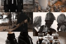 Characters aesthetics