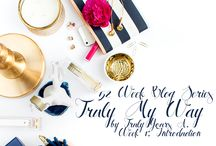 Truly Yours, A. - Truly My Way Blogging Series