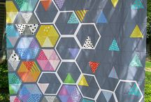 VLC Loves Hexagons / Quilt patterns I love that use or are inspired by hexagons