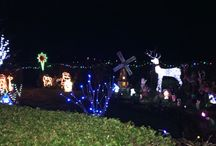 Christmas Lights House / We went to visit the lovely Christmas Lights House in Bickerstaffe in Ormskirk. What a kind family allowing people to walk around their garden. All they ask for is a donation to charity . They are on Channel 4 at 8pm on Christmas Eve