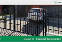 Ogrodzenie klasyczne MALAGA 3