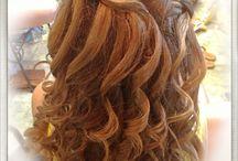Wedding Hair / Waterfall braid..
