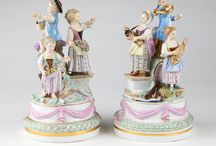 Meissen Porcelain / Highlights of past Meissen items.  Sold by John Moran Auctioneers, Pasadena, CA