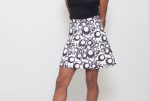 Summer looks / Mod inspired summer ladies skirts and dresses for the woman who wants to make an impression