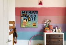 Easy Nursery Kid's Room Decor Ideas / by Angie Wynne