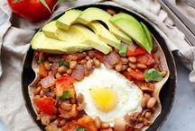 Egg/beans
