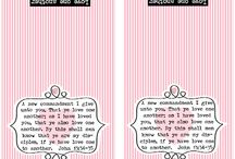 Praiseworthy Printables / Since I go to all the work, spend tons of time, and create lovely things, I thought I may as well share.  Enjoy my freebie printables.