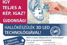 Hallókészülékek 3D LED technológiával