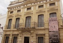 Escenas del Museo / Diferentes escenas de espacios, exposiciones y salas que han formado parte de la historia del Museo de Chiclana.
