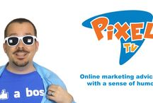 PixelTV / Welcome to PixelTV! We've got online marketing advice for you, with a sense of humor! Sound great? Subscribe today! If not, at least tell your cooler-than-you friends. With host Tim Priebe.