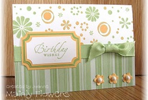 Birthday Cards / Birthday cards that I like and inspire me with my crafting